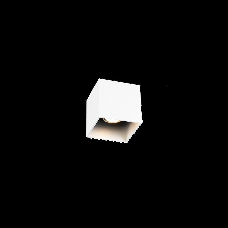 Wever & Ducré+Box Ceiling 1.0 LED 8W 3000K dim 80CRI 220-240V, Valge