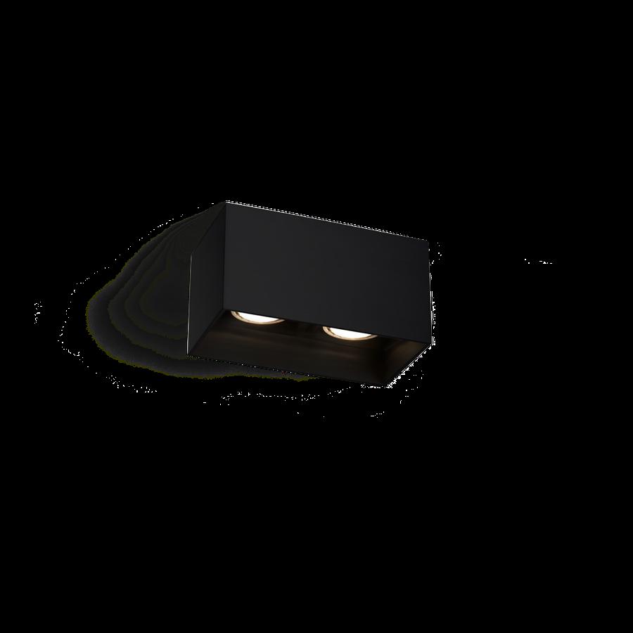 Box Ceiling 2.0 LED 2x8W 2700K dim 80CRI 220-240V, Must
