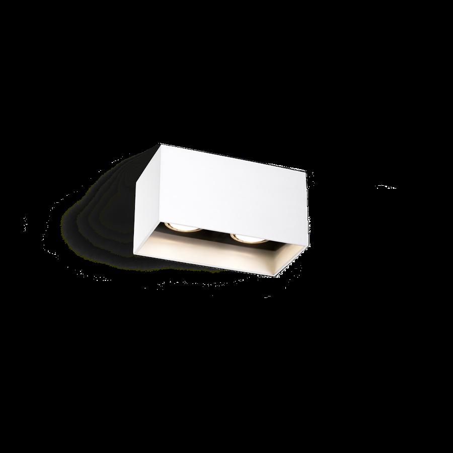 Box Ceiling 2.0 LED 2x8W 2700K dim 80CRI 220-240V, Valge