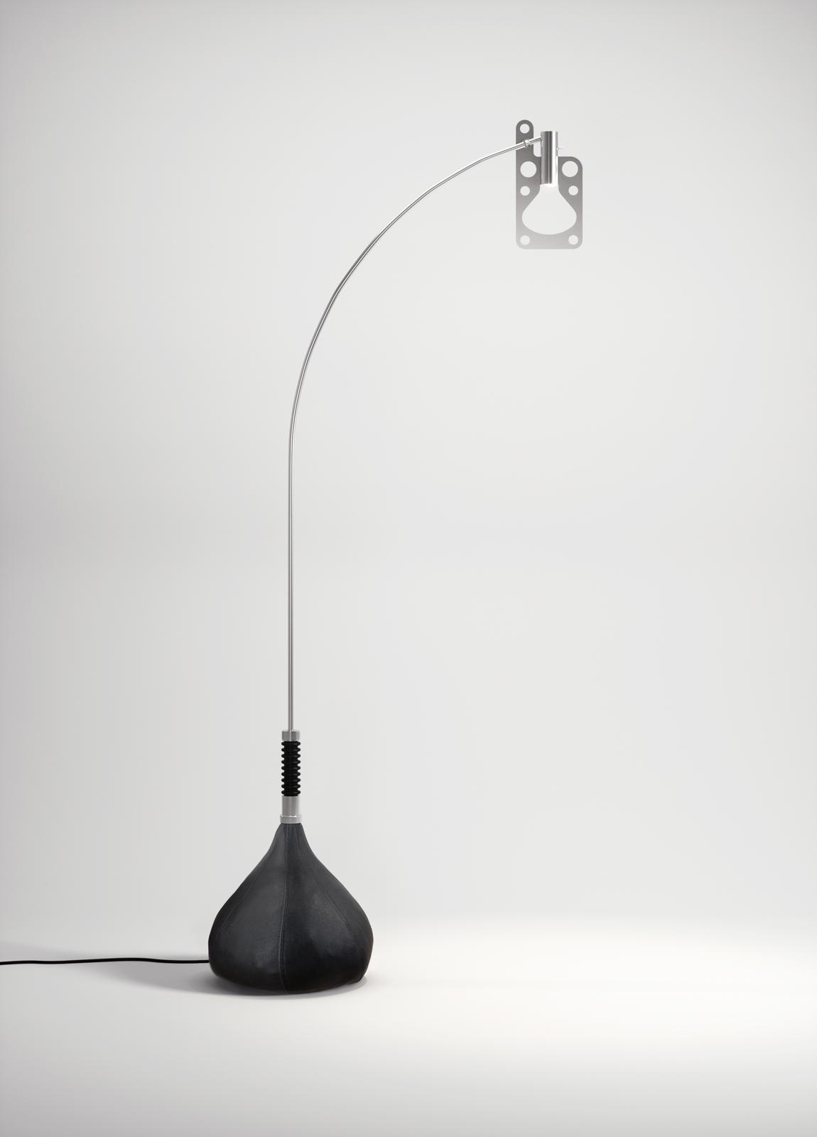 Põrandavalgusti BUL-BO LED 15,6W 1973lm 2700K CRI90 must, poleeritud alumiinium