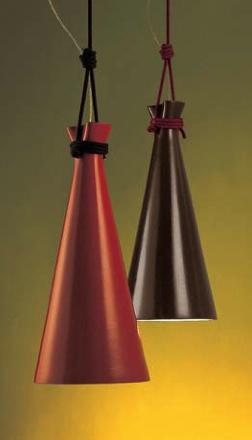 Metalarte+Campanela 100W E27 Valge kuppel, must nöör Tartu salongi näidis