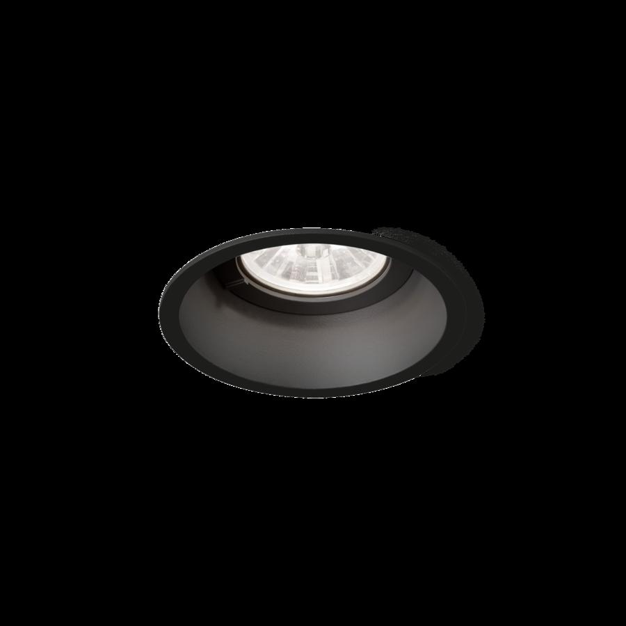 DEEP 1.0 LED 7/10W 610/830lm 4000K CRI90 36° IP20 süvisvalgusti, hämardatav, must, liiteseadmeta