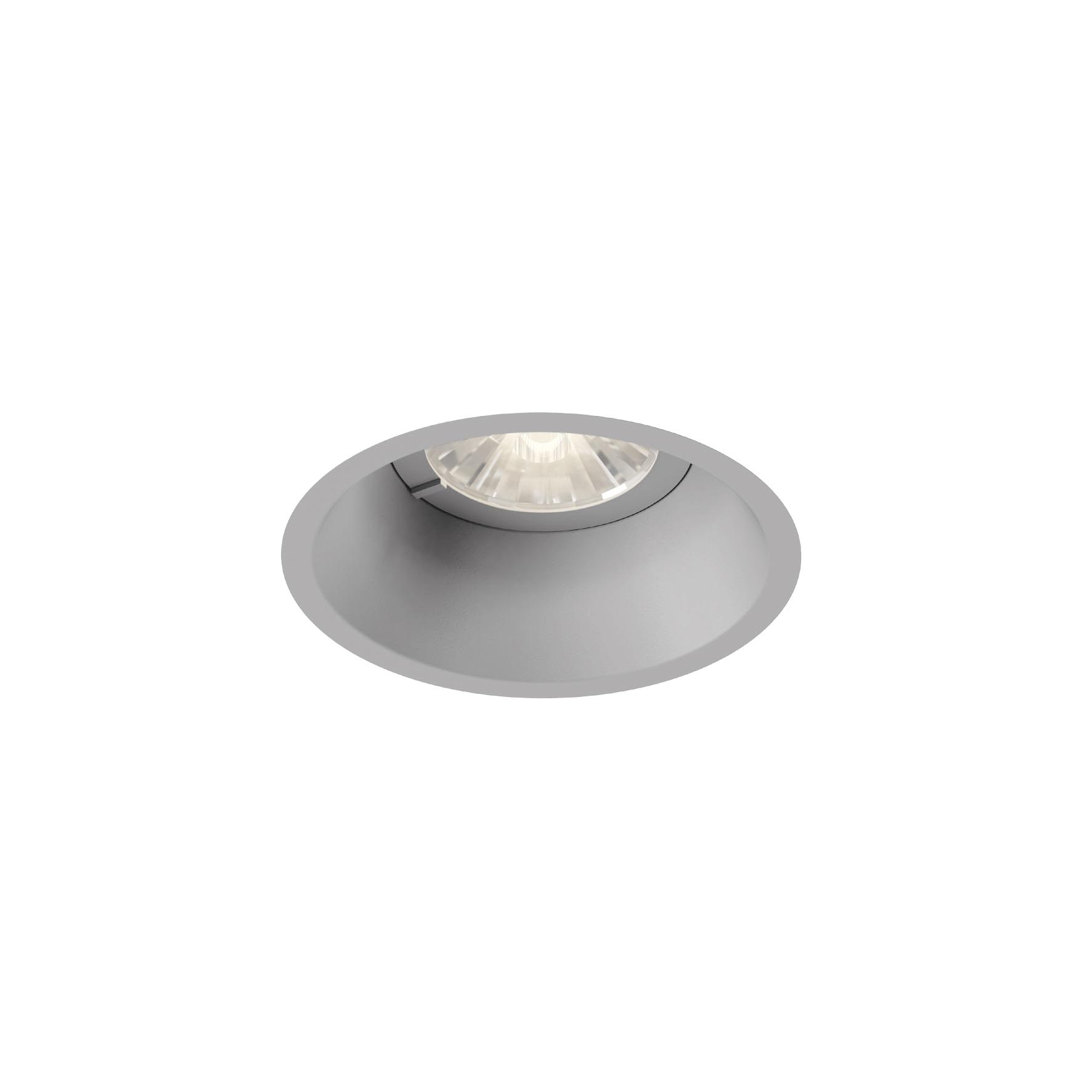 DEEP 1.0 LED 7/10W 530/710lm 2700K CRI90 36° IP20 süvisvalgusti, hämardatav, hall, liiteseadmeta