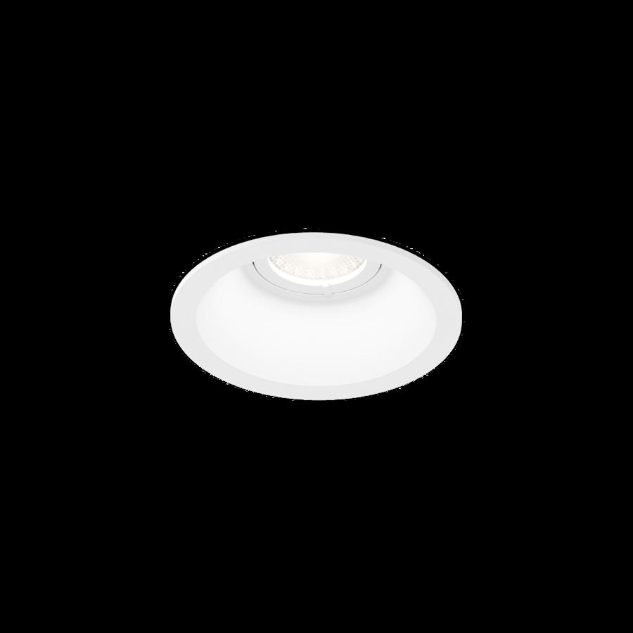 DEEP petit 1.0 LED 6W 540lm 2700K CRI90 34° IP20 süvisvalgusti, hämardatav, valge, liiteseadmeta