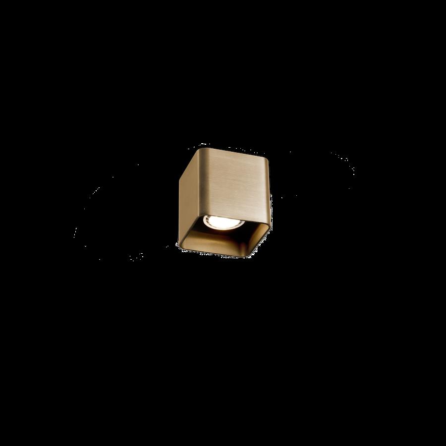 Docus Ceiling 1.0 LED 8W 2700K dim 80CRI 220-240V, Kuldne