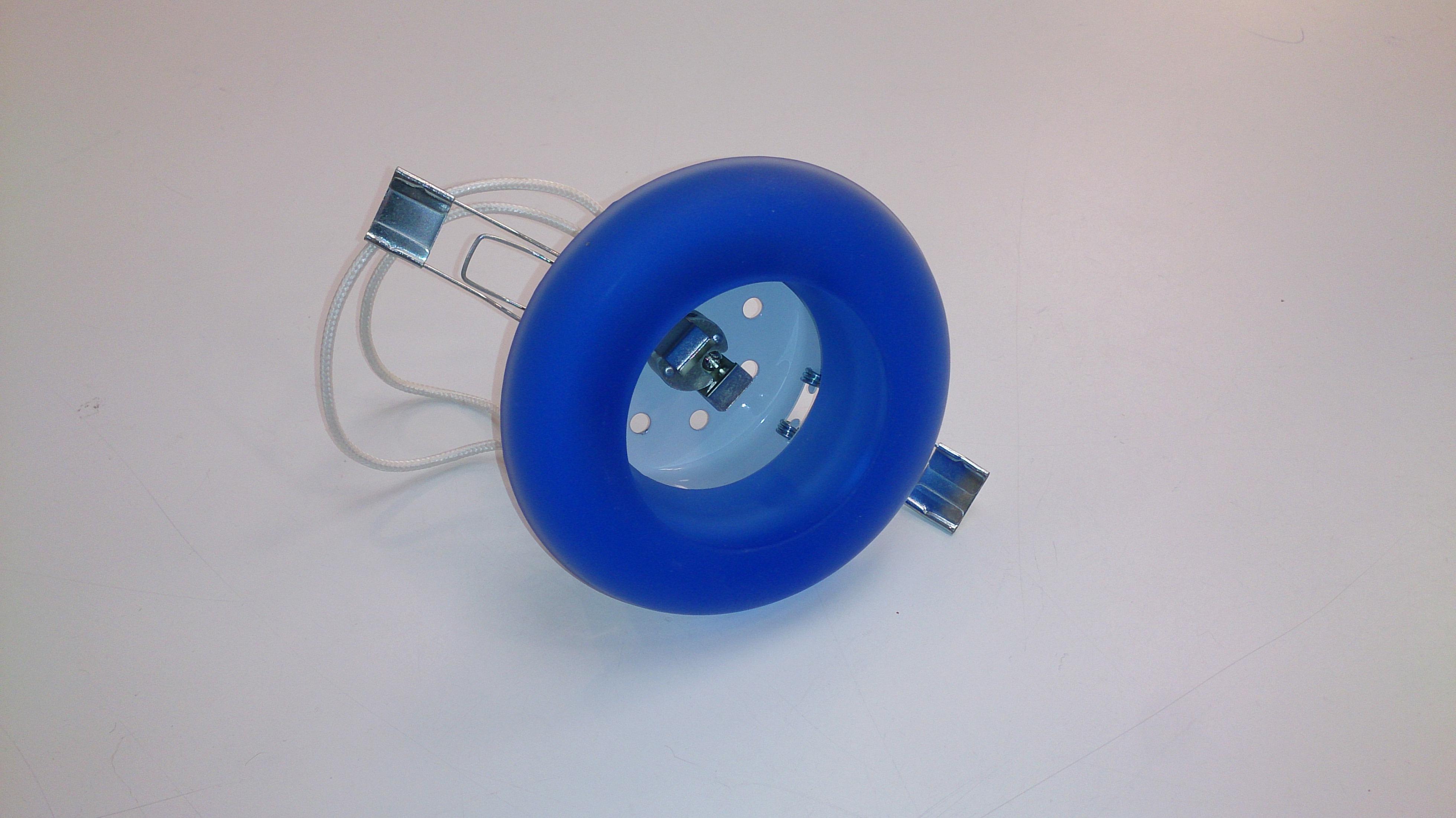 Kristall 50W G5,3 sinine  lm98mm (ava min 69... juhendis 82mm)