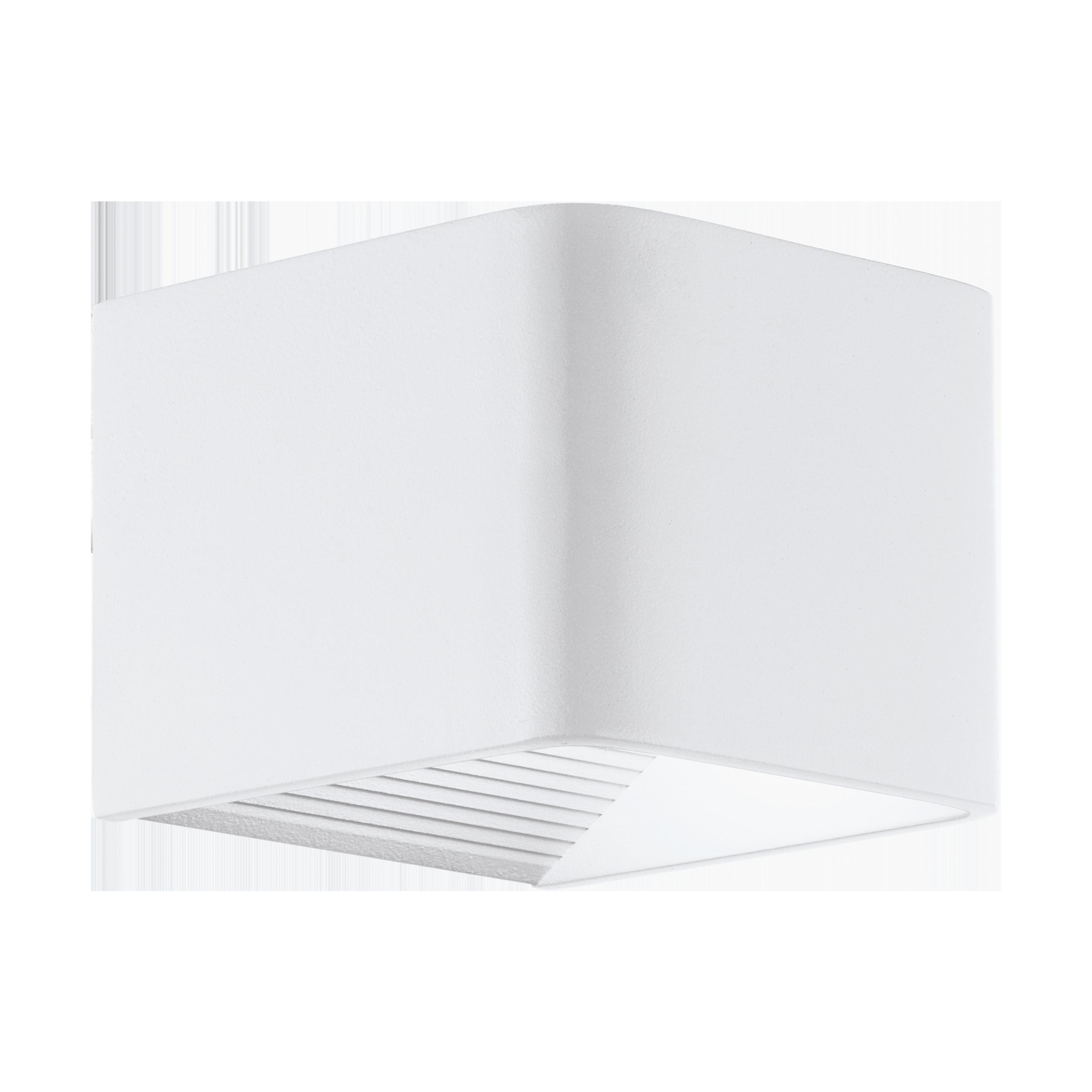 Välisvalgusti DONINNI1 LED 6W 600lm 3000K, IP44, alumiinium, valge / plastik, valge