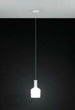 Rippvalgusti PASCOA, max 60W E27, metall, valge / valge opaalklaas