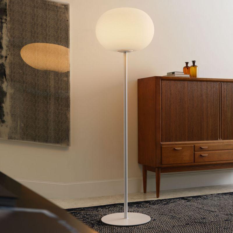 Põrandavalgusti Bianca LED 17,5W ø30cm h=130cm hämardatav