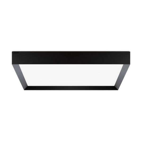 Plafoonvalgusti Flo Q 500 LED 39W 3990lm 3000K alumiinium, tumehall