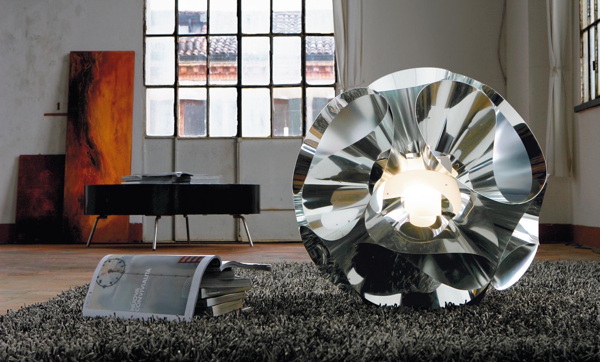 Floral lauavalgusti max 150W E27, kroom, D 600mm