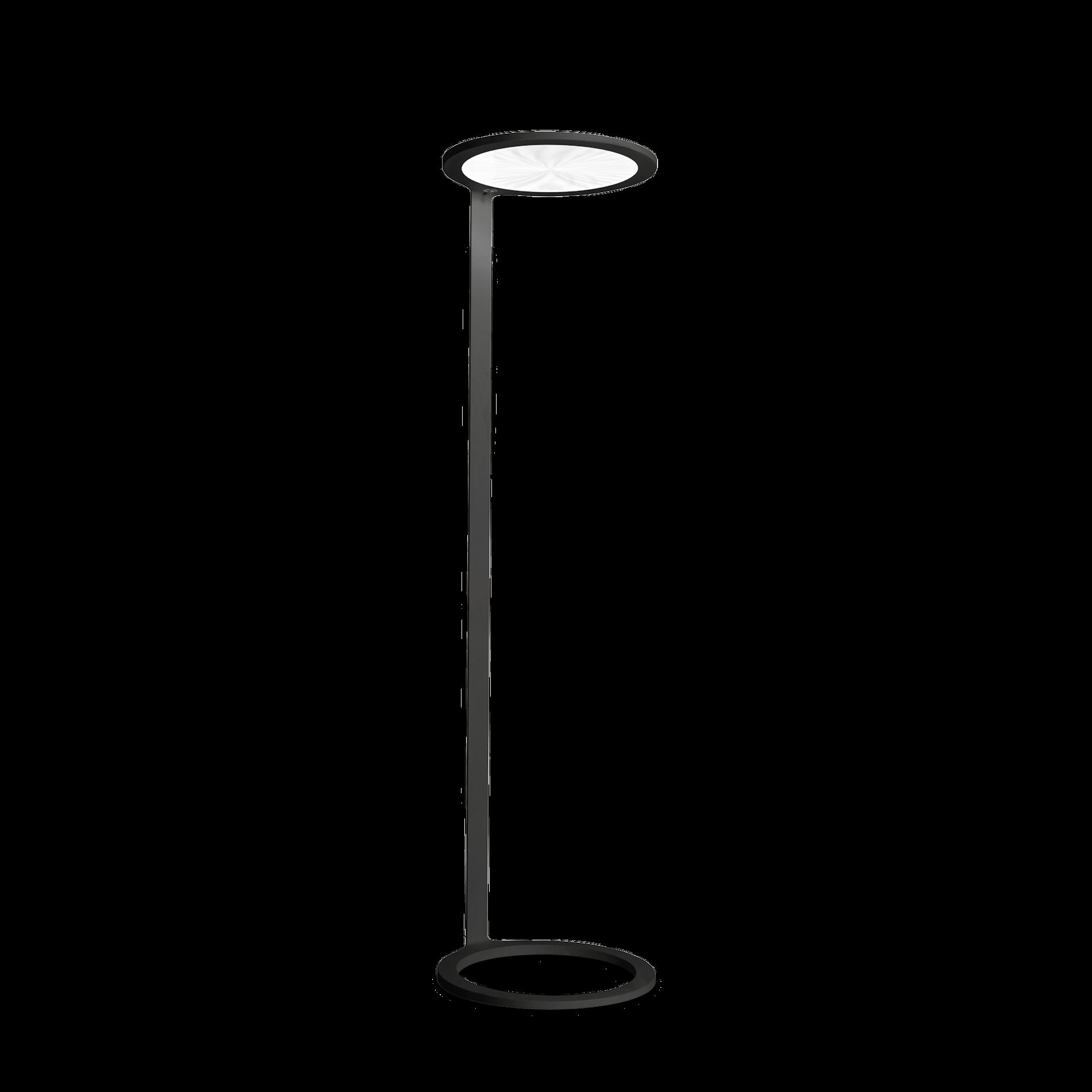 HELIOS FLOOR LED 64W 7160lm 4000K päevavalgus- ja liikumis sensoriga; alumiinium, must