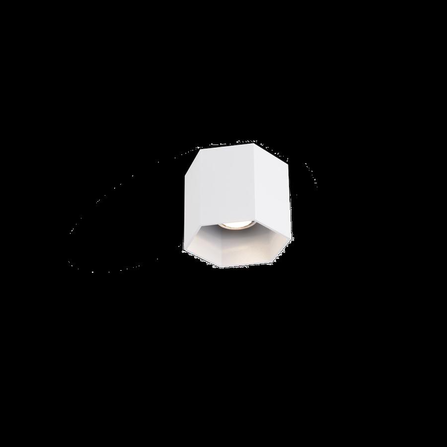 Hexo Ceiling 1.0 LED 8W 2700K dim 80CRI 220-240V, Valge