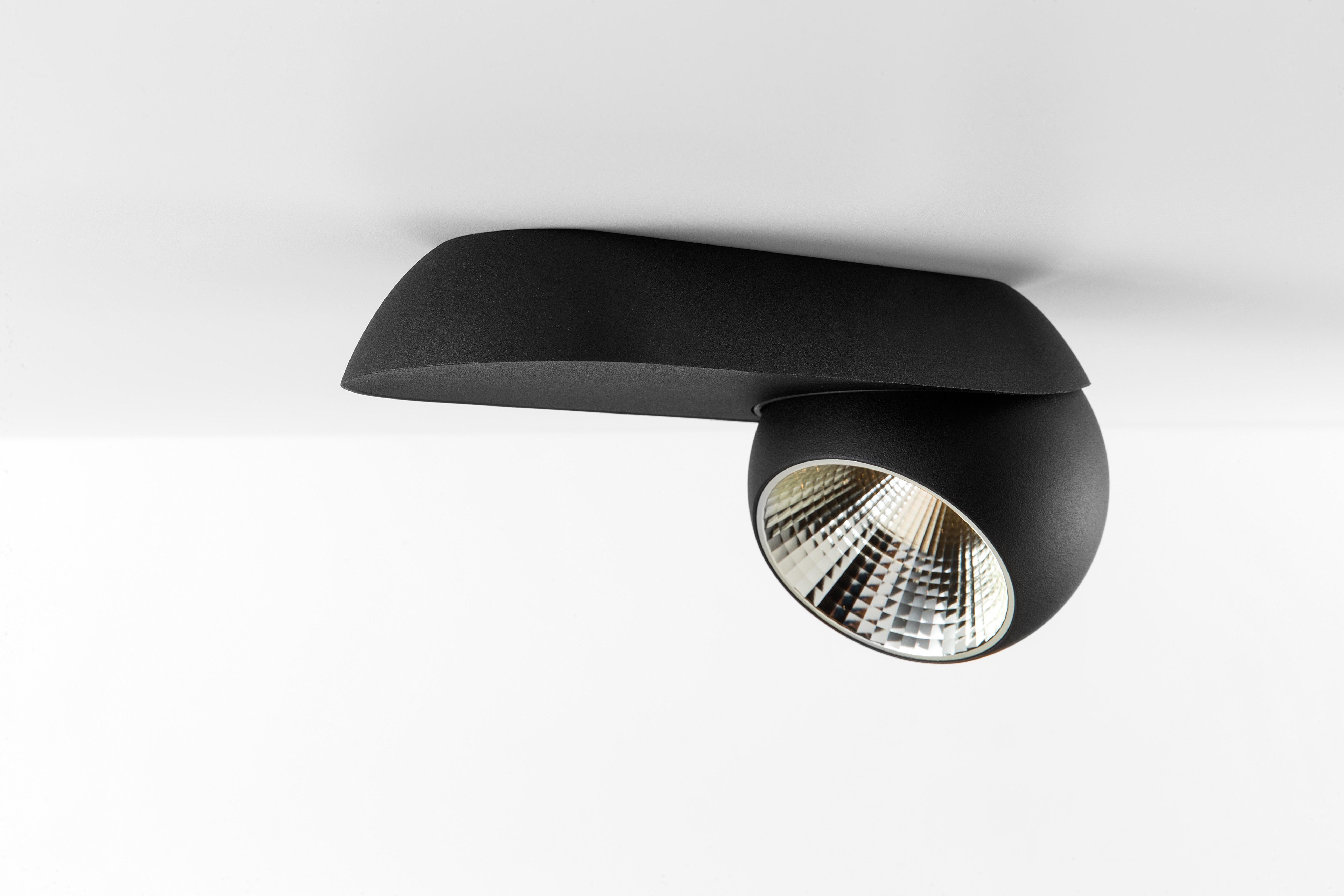Suunatav kohtvalgusti Marbul LED 9,3W 748lm 25° 3000K hämardatav, must