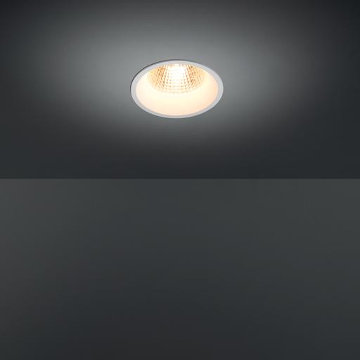 Modular+Smart 115 Lotis 1Lx LED GE 16,25W 1100-3000lm 2700K 25* medium optic, white struc