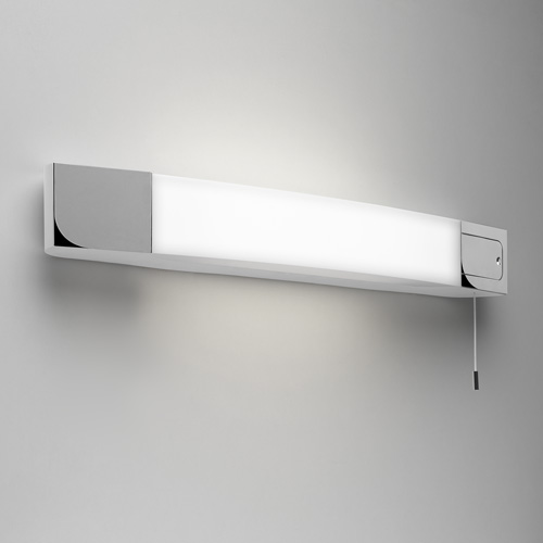 Ixtra Shaverlight 1x24W 2G11 L=600mm, seinavalgusti vannituppa, IP44 nöörlülitiga