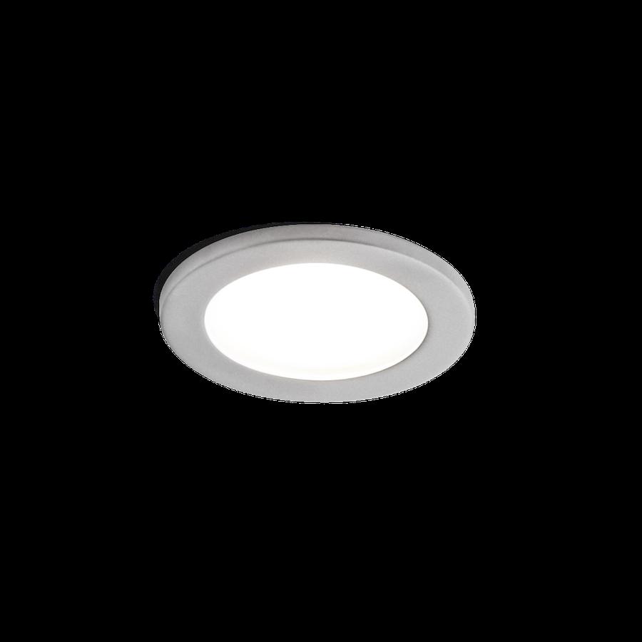 Luna Round IP44 1.0 PAR16 max.10W GU10 100-240V, Matt kroom