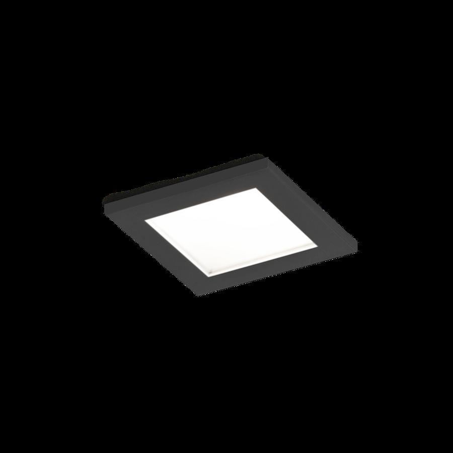 Luna Square IP44 1.0 LED HV 7W 3000K 90CRI 220-240V, Must