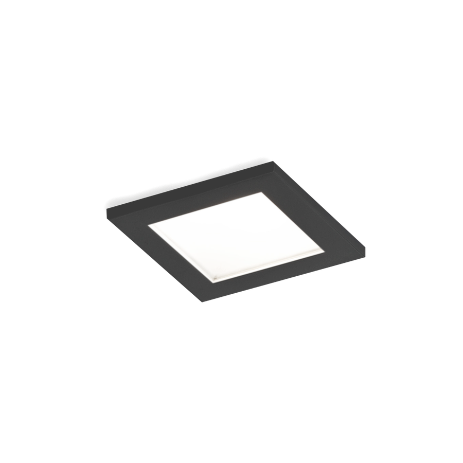 Luna Square IP44 1.0 LED 7/10W 3000K 90CRI 350-500mA, Must