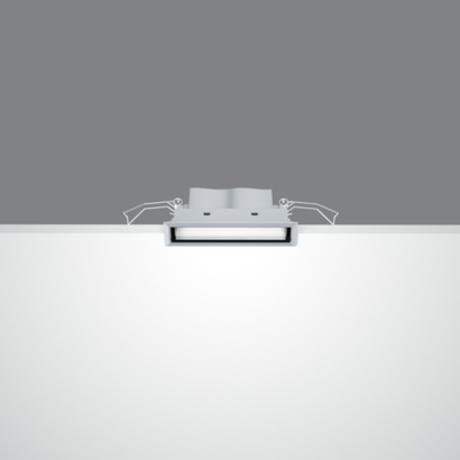 """Laser Blade """"seinapesija"""" 900lm 10W soevalge; valge/must, liiteseadmega"""