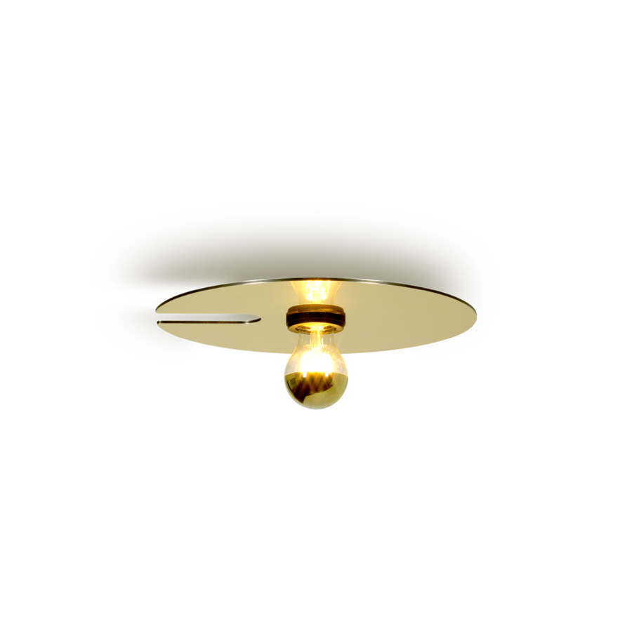 MIRRO 1.0 Max 15W E27 LED IP20 lae- ja seinavalgusti, kuldne