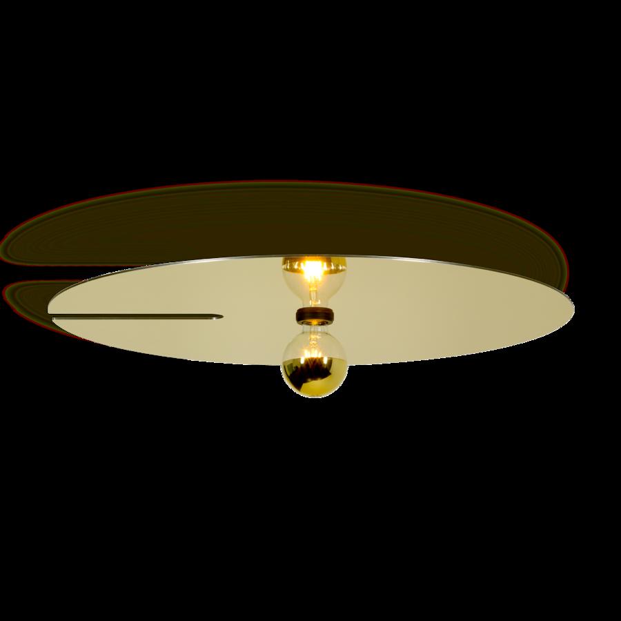 MIRRO 3.0 Max 15W E27 LED IP20 lae- ja seinavalgusti, kuldne