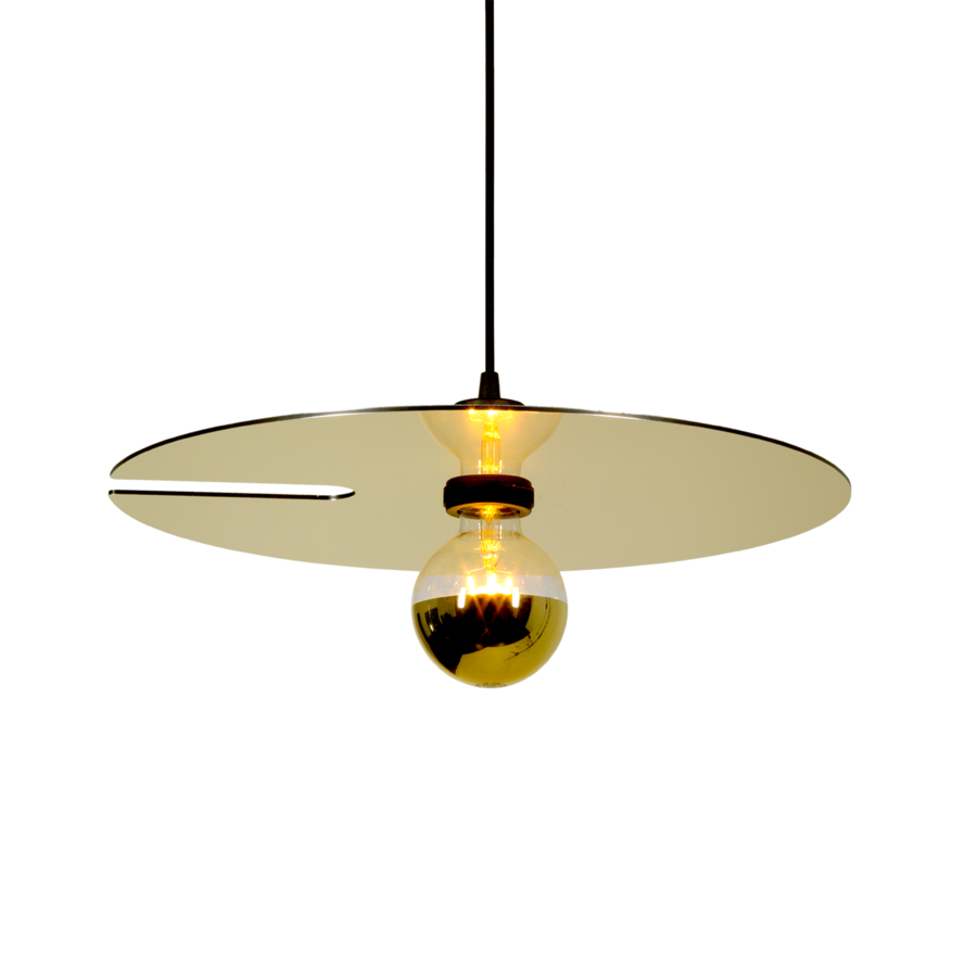 MIRRO SUSPENDED 2.0 Max 15W E27 LED IP20 rippvalgusti, kuldne, 2.5m