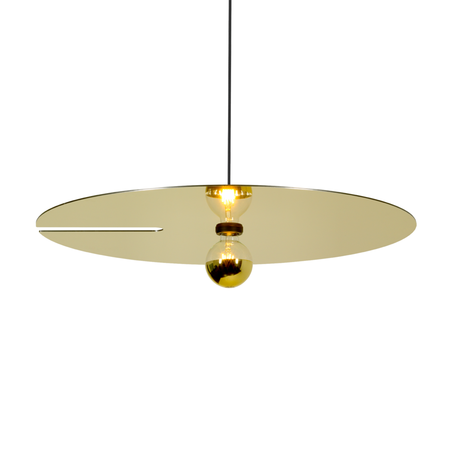 MIRRO SUSPENDED 3.0 Max 15W E27 LED IP20 rippvalgusti, kuldne, 6m