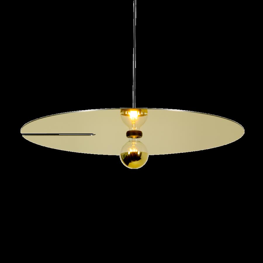 MIRRO SUSPENDED 3.0 Max 15W E27 LED IP20 rippvalgusti, kuldne, 2.5m