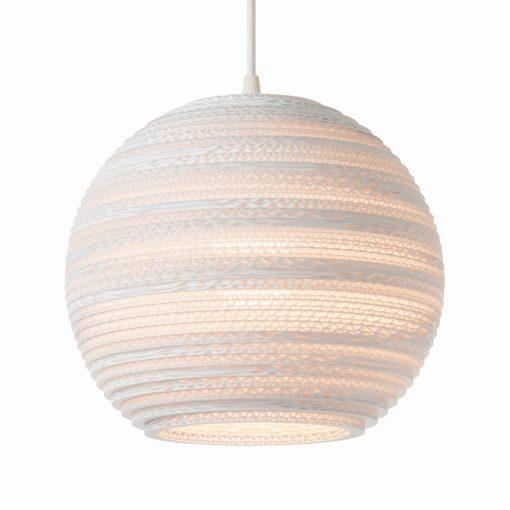Graypants+Moon10 Pendant White 1x15W E27 Ø26cm, h=200cm