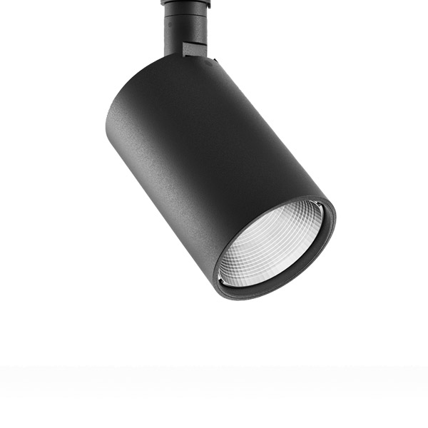 Perfetto 230 19W LED 3000K 1780lm 38° hämardatav lae- ja seinavalgusti MUST