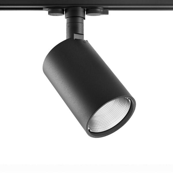 Perfetto LED 19W 1780lm 3000K 38° siinivalgusti, must, hämardatav
