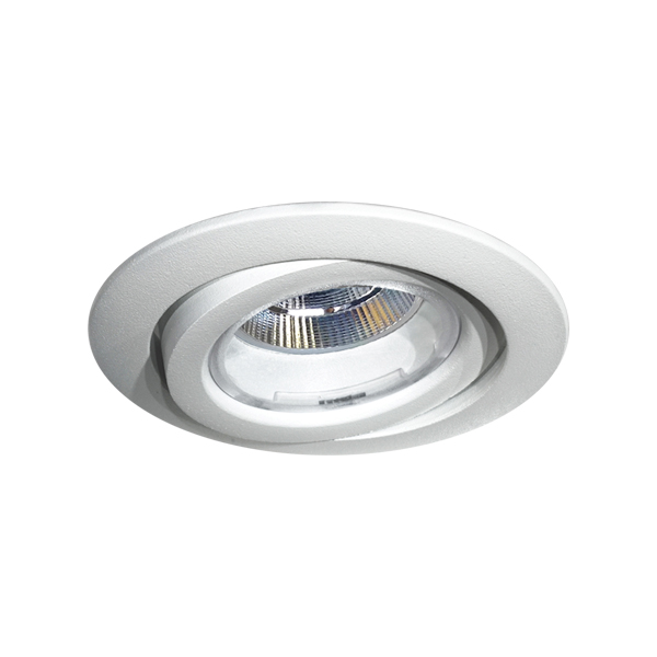 RA8 DIXIT LED 9,5W 1000lm 3000K 24° VALGE Phase Cut DIM draiver komplektis
