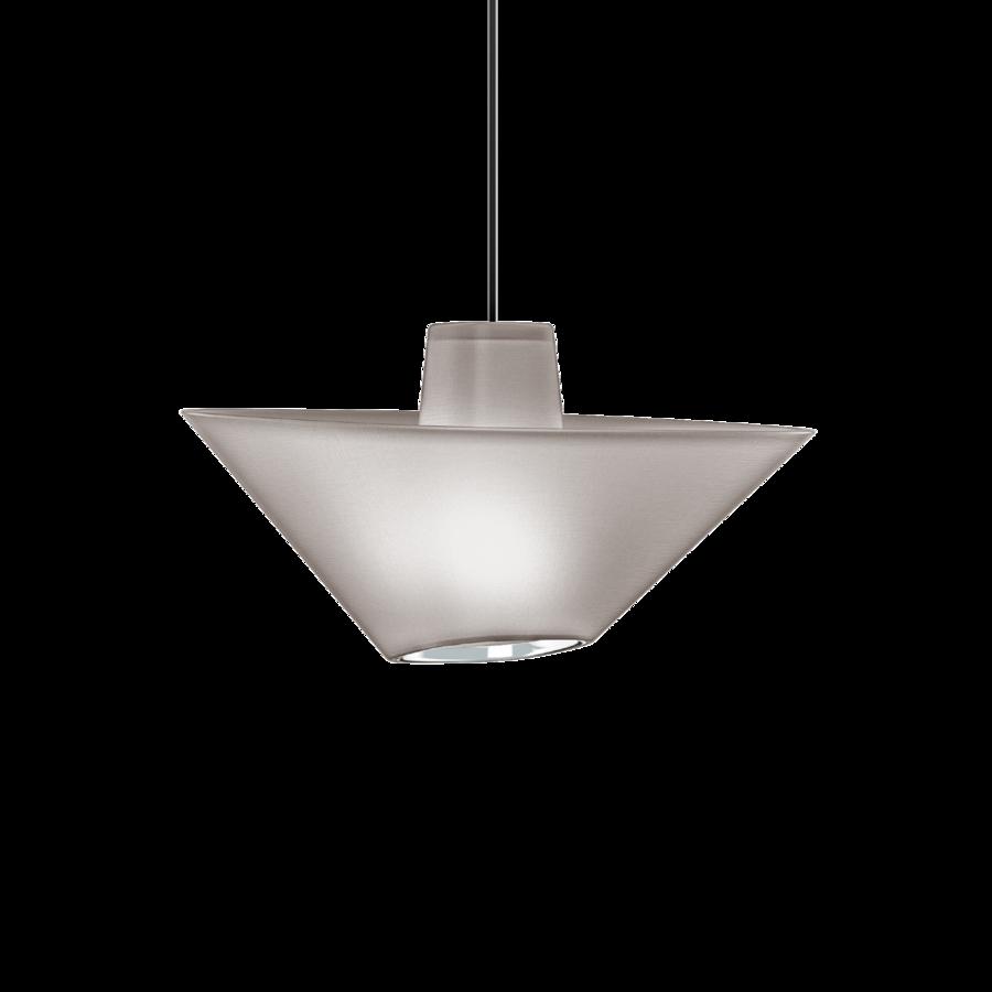 REVER 1.0 Max 15W E27 LED IP20 rippvalgusti, hall, must juhe, kroom serv