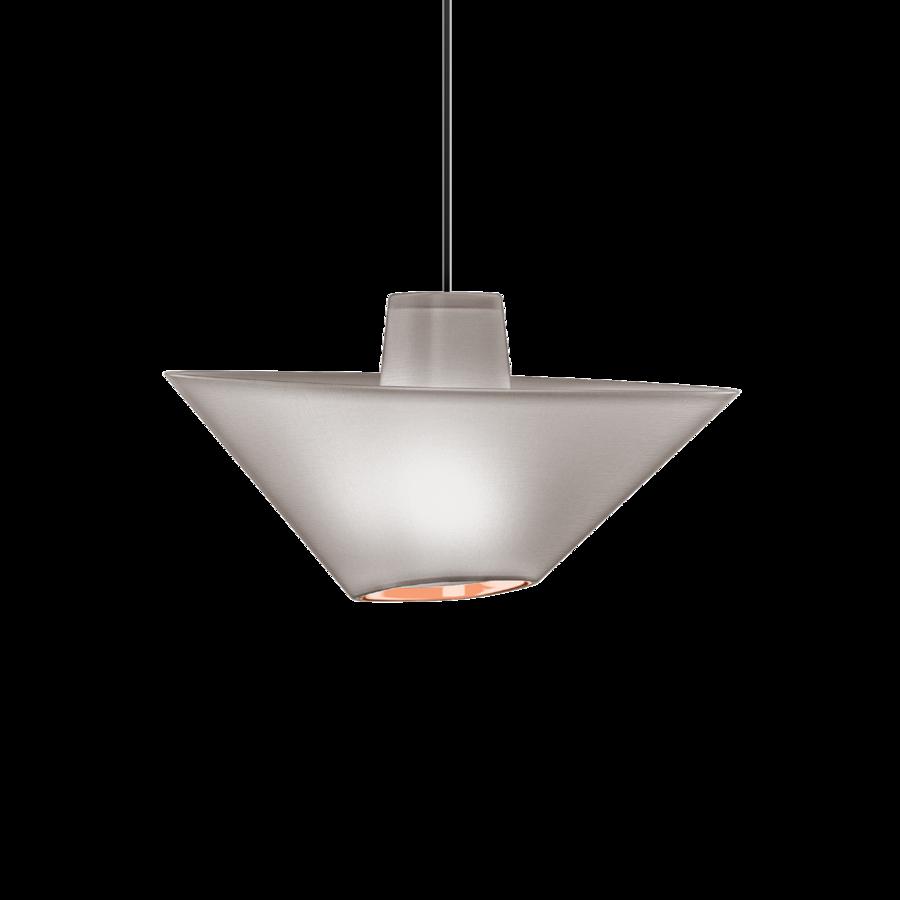REVER 1.0 Max 15W E27 LED IP20 rippvalgusti, hall, must juhe, vask serv