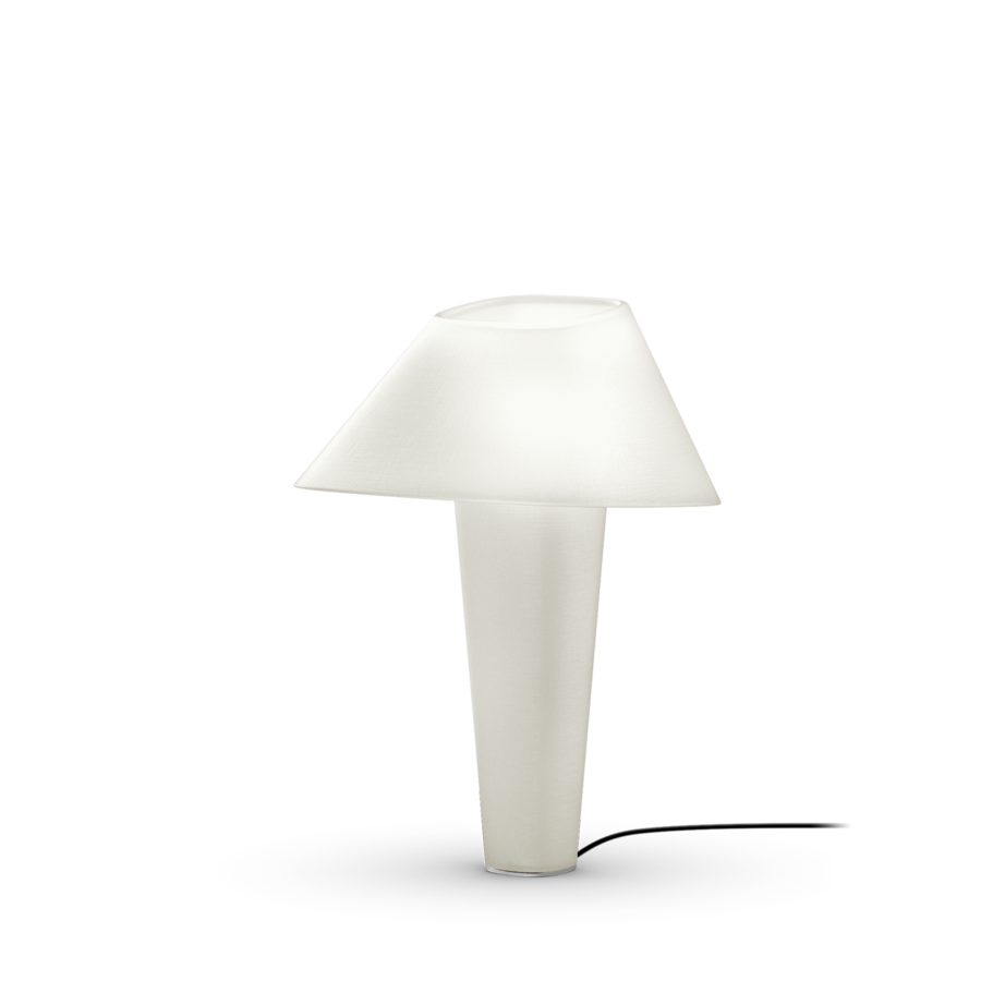 REVER TABLE 2.0 Max 12W E27 LED IP20 lauavalgusti, valge, must juhe hämarduslülitiga, kroom detail