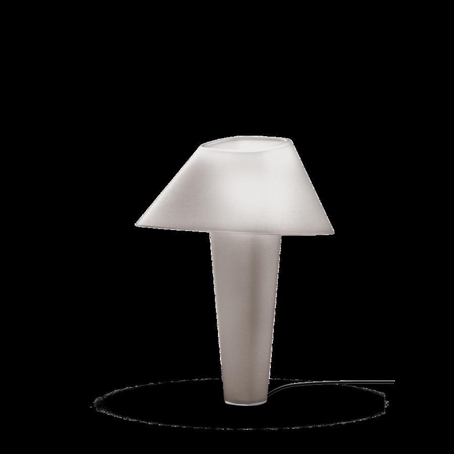 REVER TABLE 2.0 Max 12W E27 LED IP20 lauavalgusti, hall, must juhe hämarduslülitiga, kroom detail