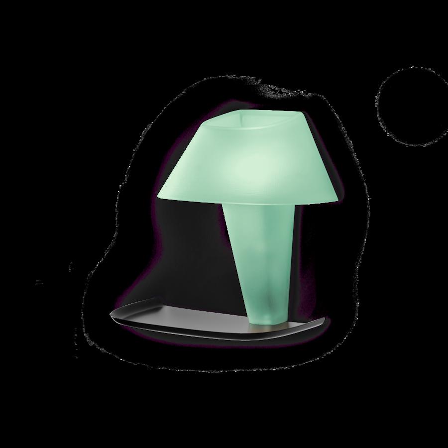 REVER WALL 1.0 Max 6W E14 LED IP20 seinavalgusti, roheline, must alus