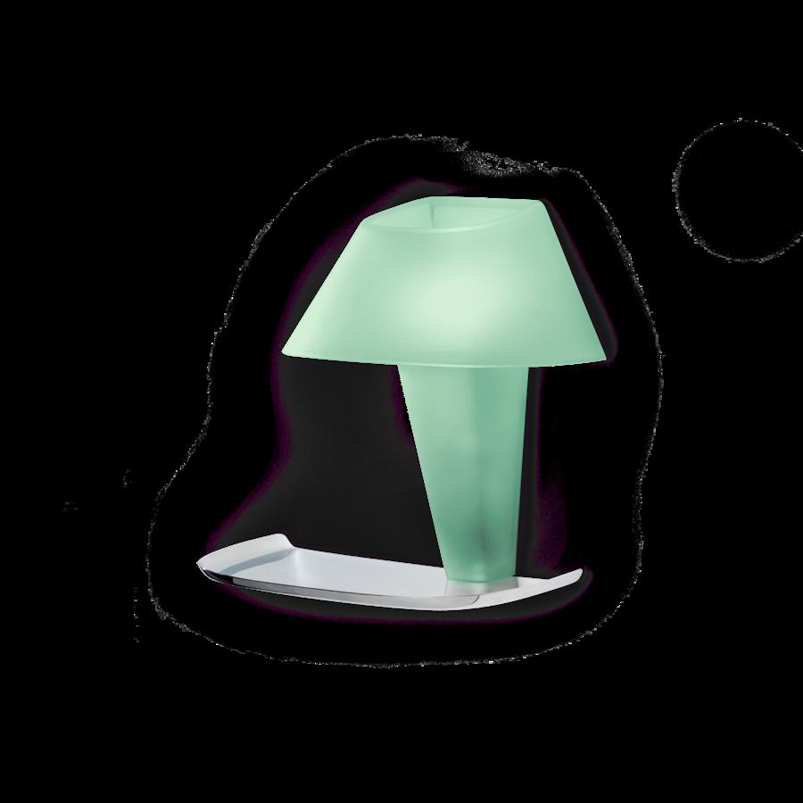 REVER WALL 1.0 Max 6W E14 LED IP20 seinavalgusti, roheline, kroom alus