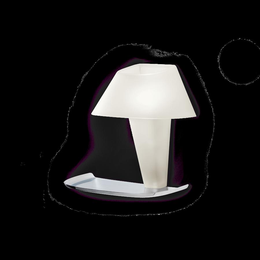 REVER WALL 1.0 Max 6W E14 LED IP20 seinavalgusti, valge, kroom alus
