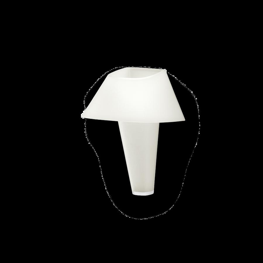 REVER WALL 2.0 Max 6W E14 LED IP20 seinavalgusti, valge, valge detail