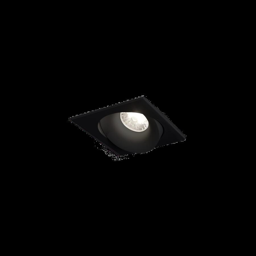 RON 1.0 LED 7/10W 350-500mA 330/450lm CRI>95 1800-2850K, Must, dimmitav