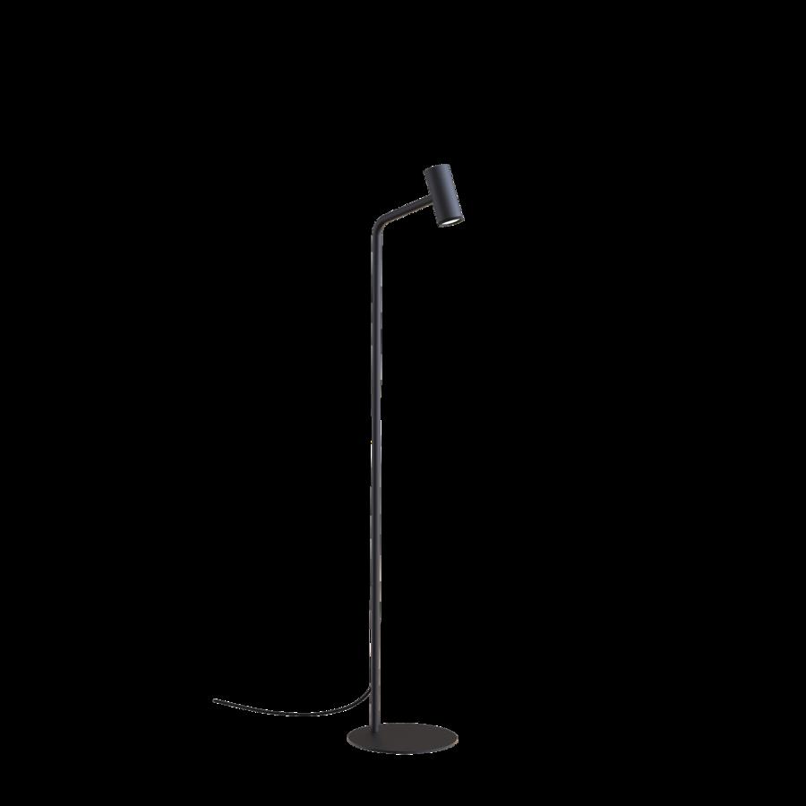 ROOMOR FLOOR 1.0 Max 15W GU10 LED IP20 põrandavalgusti, ilma kuplita, must