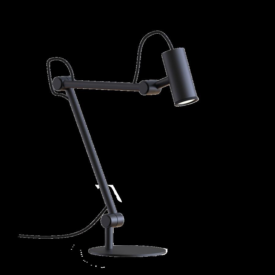 ROOMOR TABLE 2.0 Max 15W GU10 LED IP20 lauavalgusti, ilma kuplita, must