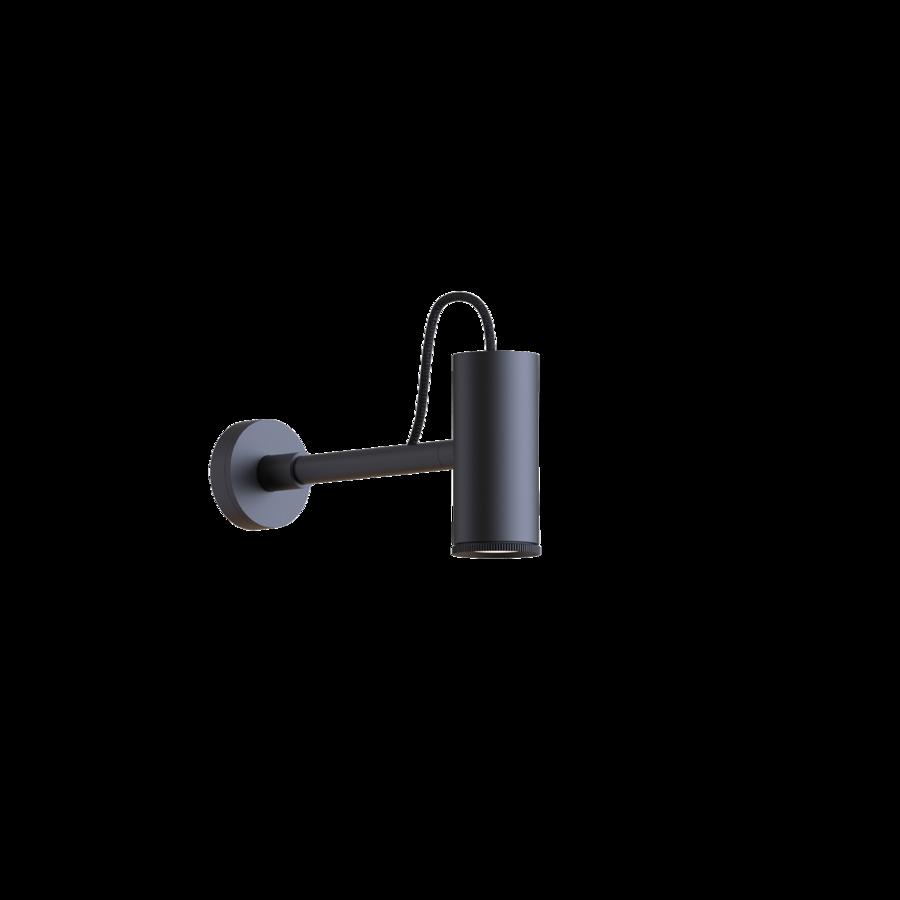 ROOMOR WALL 1.0 Max 15W LED GU10 IP20 seinavalgusti, ilma kuplita, must