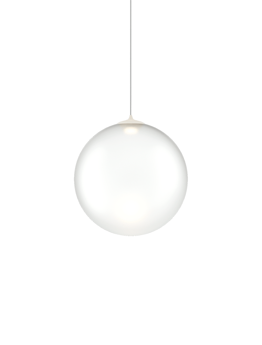 Rippvalgusti Random Solo ø23cm LED 3W 450lm 2700K CRI90 matt valge