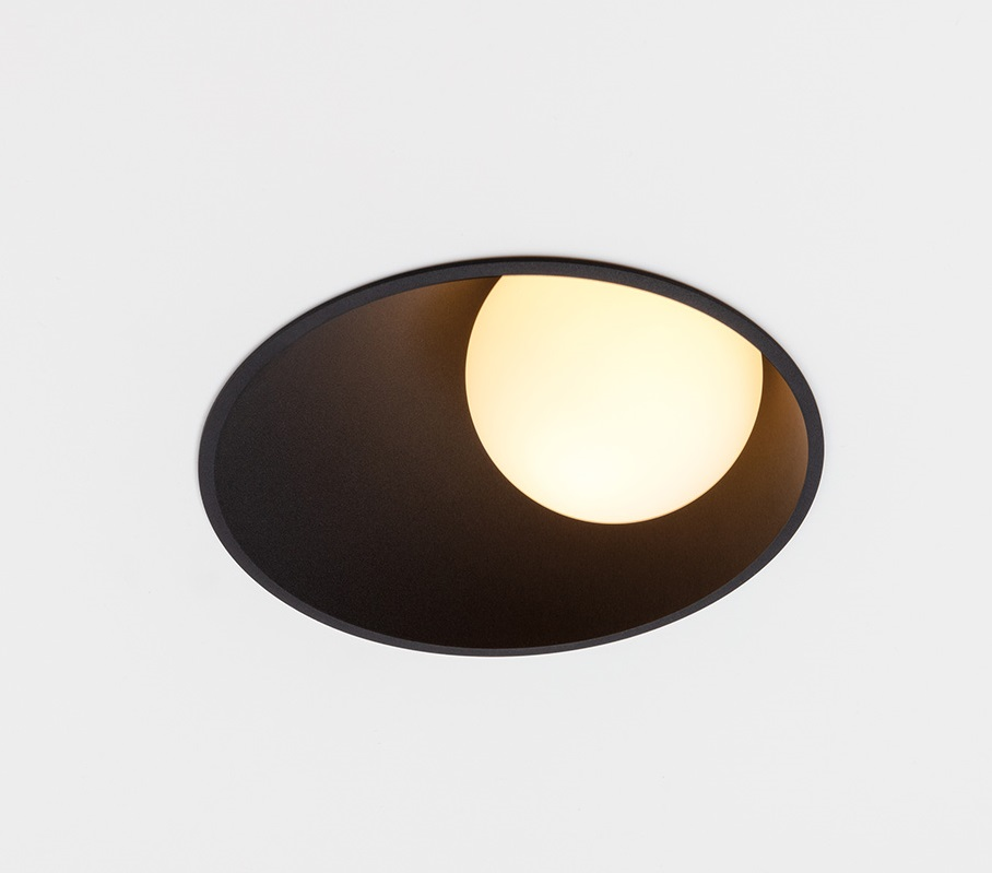 Süvisvalgusti Shellby LED 8,5W 230lm 3000K IP55 must