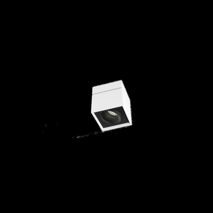 Sirro 1.0 LED 10W 3000K dim 90CRI 220-240V, Valge/Must