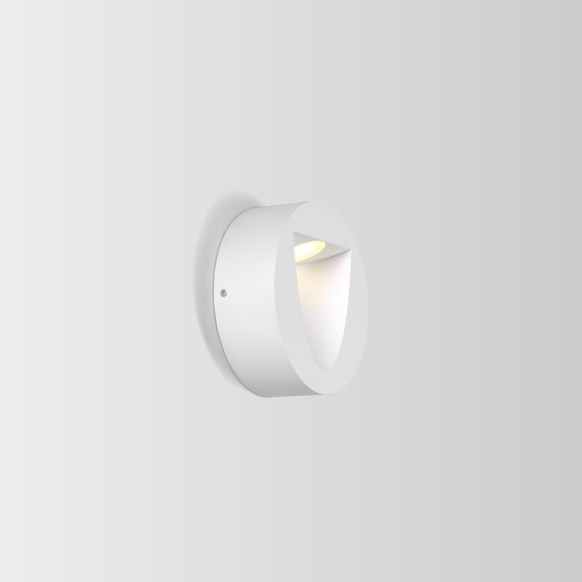 Wever & Ducré+SMILE ON 1.0 LED 3000K VALGE 6W 80CRI 220-240VAC, välisvalgusti seinale