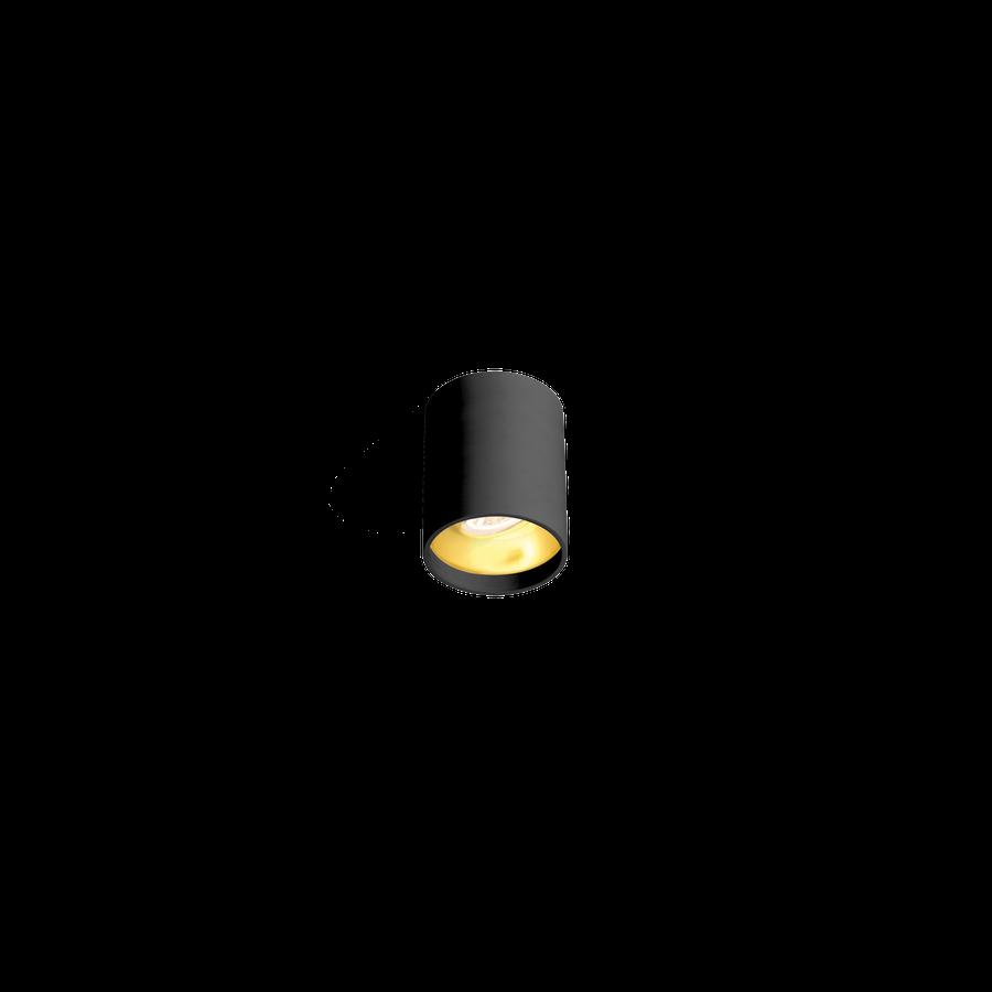 Solid 1.0 LED 8W 2700K dim 90CRI 220-240V, Must/Kuldne